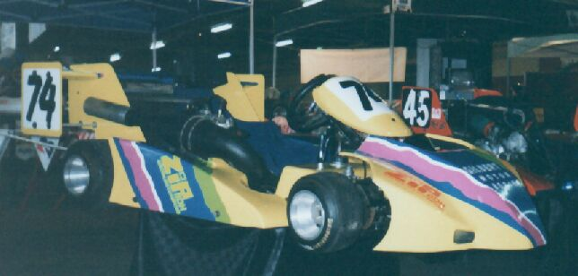 Craig Needs' 250 Zip SuperKart